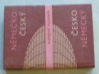 Německo - český; Česko - německý kapesní slovník (1980)