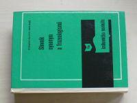 Bečka - Slovník synonym a frazeologismů (1982)
