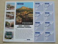 Pexeso Brno - Městská hromadná doprava (1998)