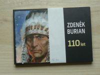 Zdeněk Burian 110 let (2015) Soubor 16 pohlednic, kompletní