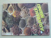 Arabské menu (nedatováno)