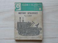 Ing. Železný - Motory spalovací (Kober Praha 1942)