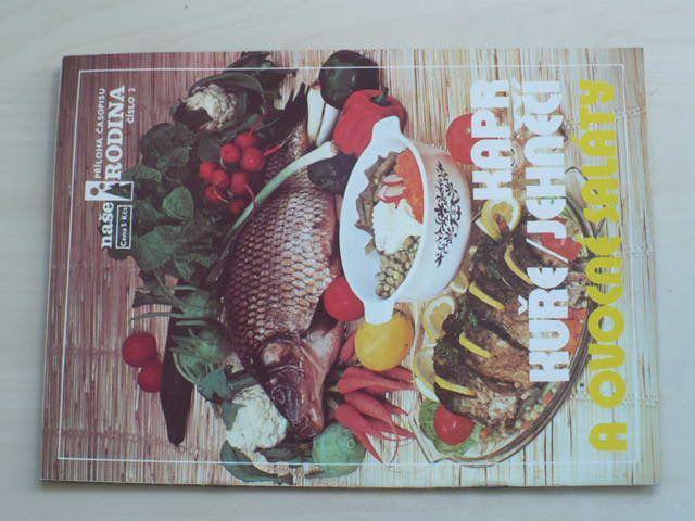 Příloha časopisu Naše rodina - Kapr, kuře, jehněčí a ovocné saláty - č.2 (nedatováno)