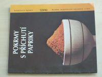 Sešity domácího hospodaření - svazek 166 - Vlachová - Pokrmy s příchutí papriky (1991)