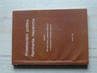 Protektorátní politika Reinharda Heydricha (1991) ed. Kárný, Milotová