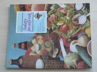 Sešity domácího hospodaření - svazek 100 - Vrabec - Saláty po celý rok (1984)