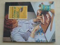 Sešity domácího hospodaření - svazek 137 - Sedláčková - Učíme se vařit (1986)