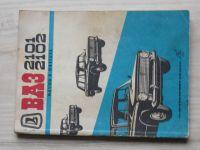 VAZ 2101, 2102 - Návod k obsluze automobilů