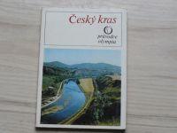 Český kras - Průvodce Olympia 1978, mapa