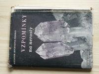 Fersman - Vzpomínky na nerosty (Orbis 1946)