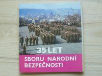 35 let Sboru národní bezpečnosti - 26 fotografií v třídílné obálce
