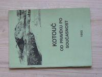 Kotouč od pravěku po současnost (1992) usp. Adamec, Kotouč - Štramberk