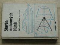 Hubert - Stavba motorových člunů (1974) včetně příloh (9 plánků)