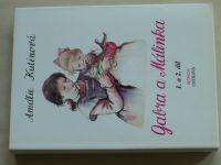 Kutinová - Gabra a Málinka 1-2, 3-4, 5-6 (1991-92) 3 knihy