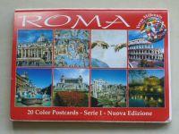 Roma - 20 color postcards - Serie I-II (nedatováno) 40 pohlednic