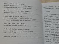 Historická Olomouc a její současné problémy VIII. - UP Olomouc 1990
