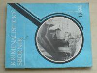 Kriminalistický sborník 12 (1994) ročník XXXVIII.