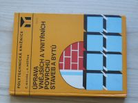 Novák, Měšťan - Úprava vnějších a vnitřních povrchů staveb a bytů (1982)