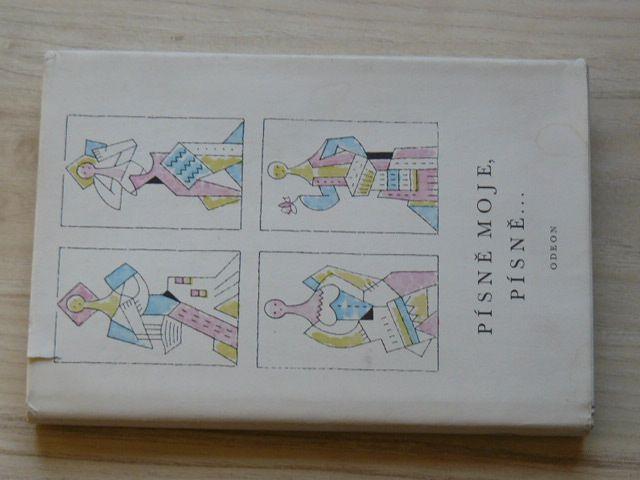 Písně moje, písně... (1968) Výběr ze slovenské lidové poezie, il. L. Fulla
