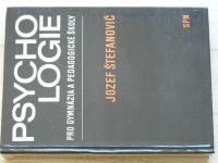 Štefanovič - Psychologie pro gymnázia a pedagogické školy (1976)