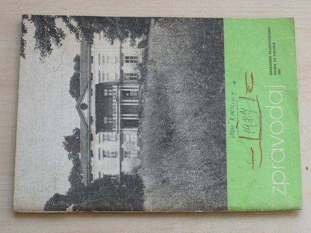 Zpravodaj Okresního vlastivědného muzea ve Vsetíně (1987)