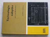 Drápela - Technologie nábytku pro 4. ročník SPŠ dřevařských (1979)