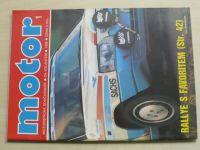 Motor 1 (1989) ročník XXI.