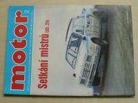 Motor 2 (1989) ročník XXI. + příloha