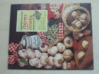 Sešity domácího hospodaření - svazek 136 - Šafářová - Pokrmy s vůní česneku (1986)