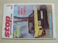 Stop auto-moto revue 5 (1987) ročník XVII. (slovensky)