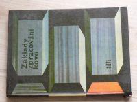 Borský -  Základy zpracování kovů (SNTL 1964)