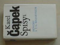 Čapek - Spisy - Hovory s T. G. Masarykem (1990)