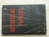 František Běhounek - Neviditelné paprsky (1939)