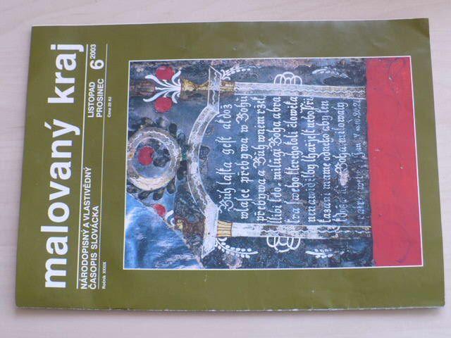 Malovaný kraj 6 (2003) ročník XXXIX.