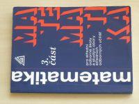 Matematika pro střední odborné školy a studijní obory středních odborných učilišť (2006) 3. část