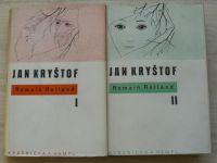 Romain Rolland - Jan Kryštof I. - IV., kompletní (1948) obálky, kresby Toyen