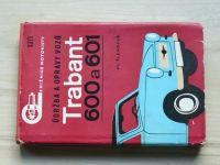 Šlehofer - Údržba a opravy vozů Trabant 600 a 601 (1974)