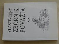Vlastivedný zborník Považia XX. (2000) slovensky