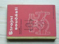 Strojní součásti pro II. ročník průmyslových škol strojnických (1960)