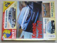 Svět motorů 1-52 (2002) ročník LVI. (chybí čísla 1-15, 33, 36 čísel)
