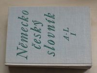 Německo-český slovník A-Z (1974) 2 knihy