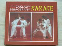 Levský - Základy sebeobrany KARATE (1988) slovensky