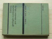 Záruba, Vachtl, Pokorný - Základy geologie a petrografie pro stavební fakulty (1974)