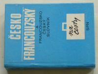 Čapková - Česko francouzský a francouzsko český slovník na cesty (1981)