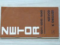 Zetor 10011 - 10045 - 16045 - Návod k obsluze 1/78