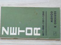 Zetor 8011 - 8045 - 12011 - 12045 Návod k obsluze 1/75