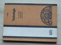 Kukol - Technologie pro 1. ročník SOU učebních oborů zpracování dřeva (1987)