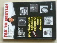 Brázda - Tak to nebylo! (1997) Psychotronik odhaluje tajemství úmrtí slavných
