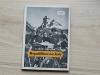 Šnajberk - Republikou na kole (1956) Cyklistické výlety, trasy