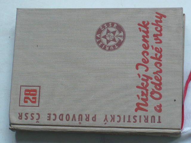 Turistický průvodce ČSSR 28 - Nízké Jeseníky a Oderské vrchy (1968)